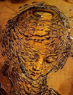 "نقاشی ""انفجار سرِ رافائل""، اثر سالوادور دالی"